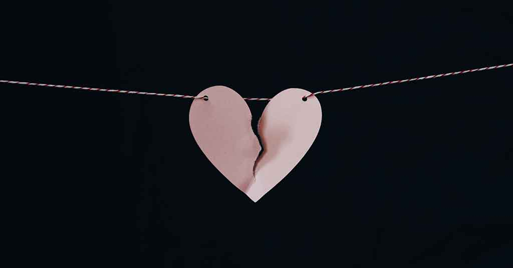 broken heart- signs to leave a relationships