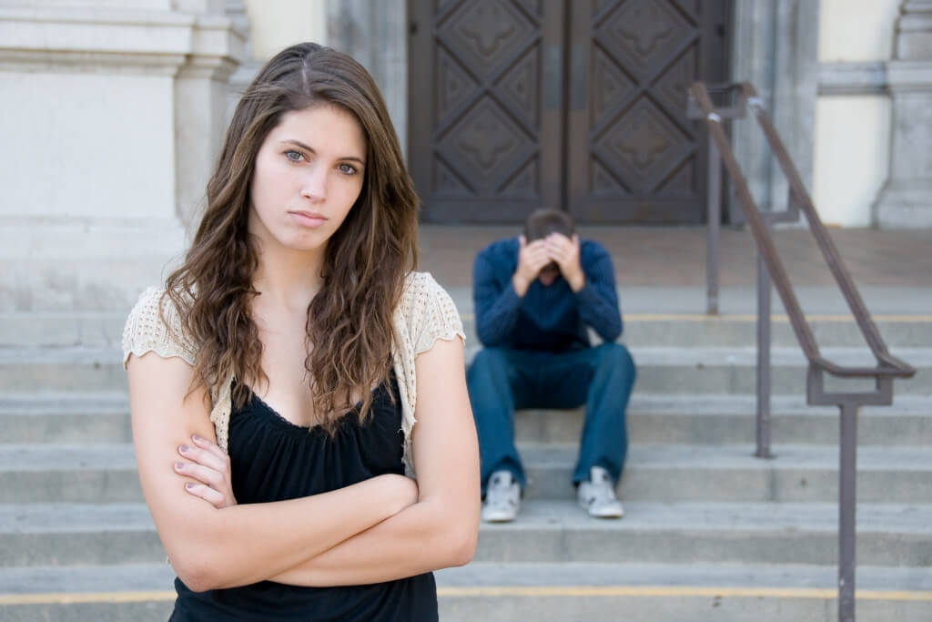Woman Break Up With Your Husband