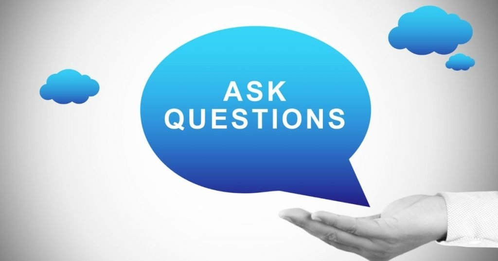 ask question sign