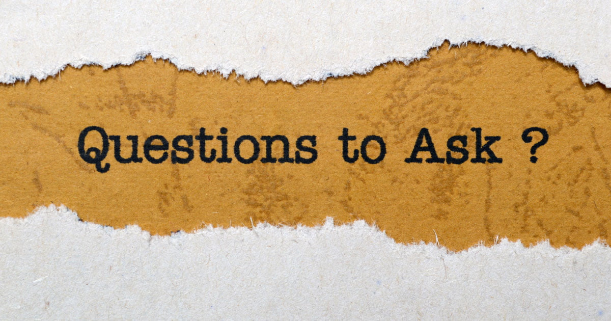 Question to ask your spouse